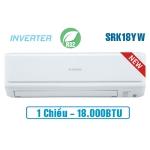 Điều hòa Mitsubishi Heavy inverter 18.000BTU 1 chiều SRK/SRC18YW-W5