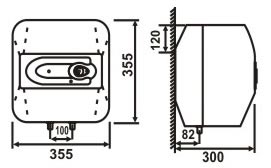 binh nong lanh picenza S15EX kt Bình nóng lạnh Picenza S15EX  (Titanium  Van xả cặn )