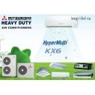Hệ thống điều hòa không khí thu hồi nhiệt Mitsubishi heavyVRF