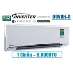 Điều hòa Panasonic 9.000BTU 1 chiều inverter U9VKH-8