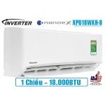 Điều hòa Panasonic NanoeX 18000BTU 1 chiều inverter XPU18WKH-8