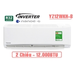 Điều hòa Panasonic 2 chiều 12000BTU inverter YZ12WKH-8